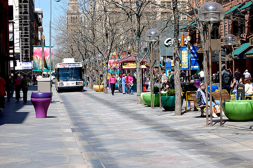 Walk the 16th Street Mall